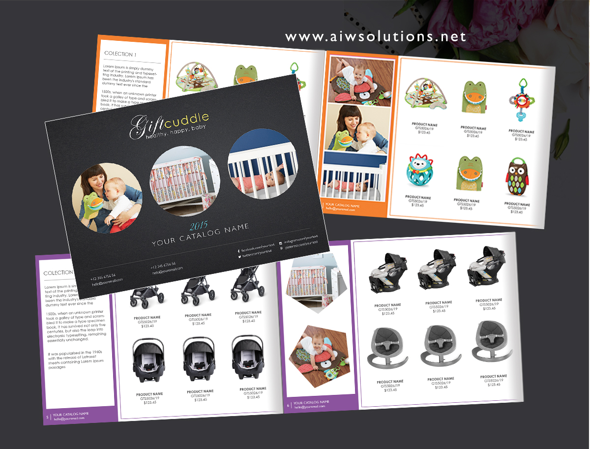 Brochures of products and services