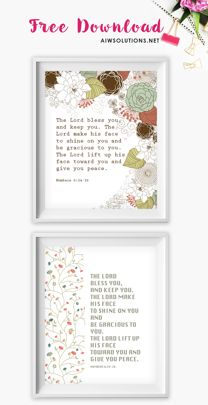 image about Free Printable Scripture Art titled Absolutely free down load Printable Scripture Artwork