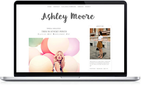 wordpress theme for girl
